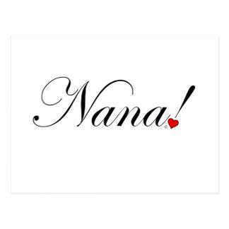 Cartão Postal Nana!