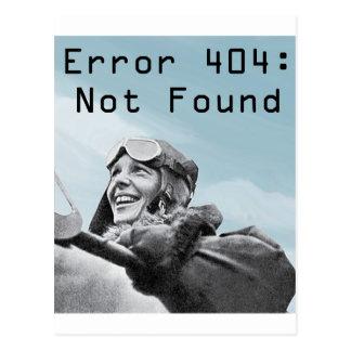 Cartão Postal Não encontrado