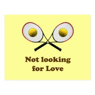 Cartão Postal Não procurando o tênis do amor