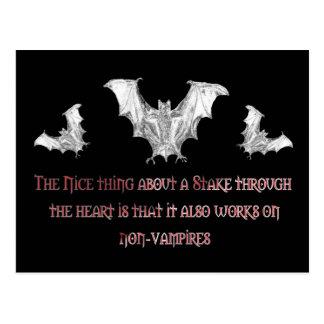 Cartão Postal Não-Vampiros