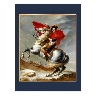 Cartão Postal Napolean Bonaparte por Jacques Louis David