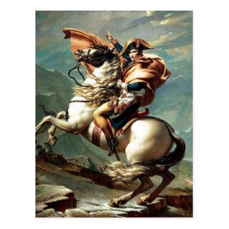 Cartão Postal Napoleon 1801 que cruza os cumes, Jacques-Louis