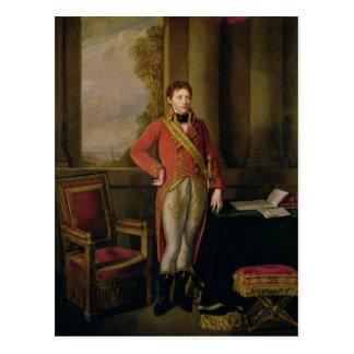 Cartão Postal Napoleon Bonaparte como primeiramente o cônsul,