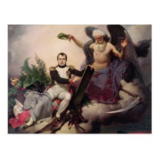 Cartão Postal Napoleon coroou em o tempo, antes de 1833