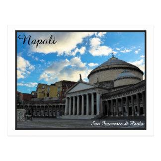 Cartão Postal Napoli