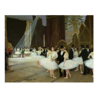 Cartão Postal Nas asas no teatro da ópera, 1889