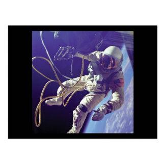 Cartão Postal NASA americana do caminhante do espaço de Edward