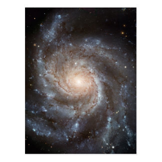 Cartão Postal NASA da galáxia espiral do Pinwheel M101