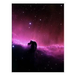 Cartão Postal NASA de Barnard 33 da nebulosa de Horsehead