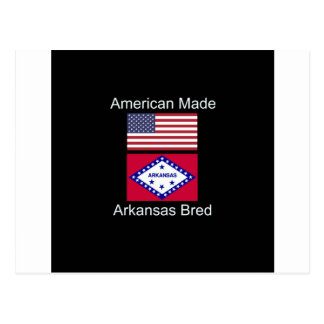 """Cartão Postal """"Nascer americano. Arkansas produziu da"""" o design"""