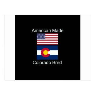 """Cartão Postal """"Nascer americano. Colorado produziu da"""" o design"""