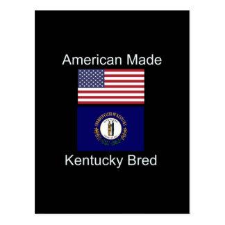 """Cartão Postal """"Nascer americano. Kentucky produziu da"""" o design"""