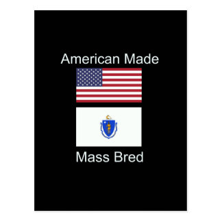 """Cartão Postal """"Nascer americano. Massachusetts produziu da"""" o"""