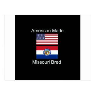 """Cartão Postal """"Nascer americano. Missouri produziu da"""" o design"""