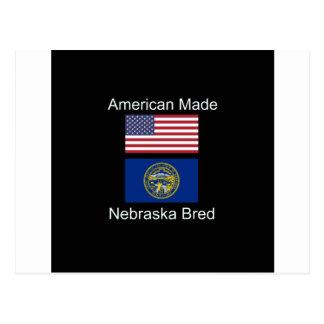 """Cartão Postal """"Nascer americano. Nebraska produziu da"""" o design"""