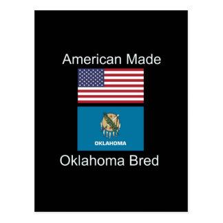 """Cartão Postal """"Nascer americano. Oklahoma produziu da"""" o design"""