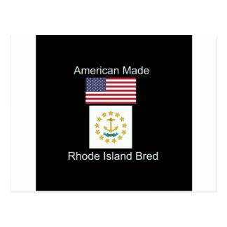 """Cartão Postal """"Nascer americano. Rhode - da"""" design produzido"""