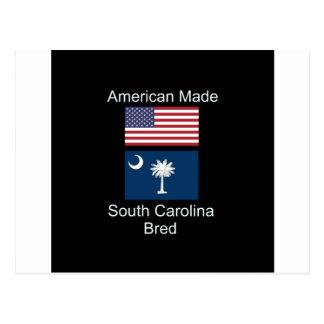 """Cartão Postal """"Nascer americano. South Carolina produziu da"""" o"""