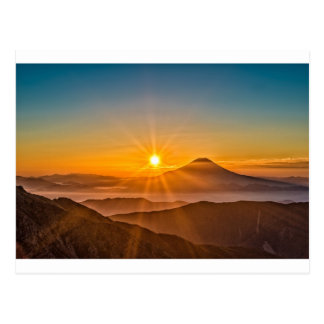 Cartão Postal Nascer do sol