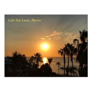 Cartão Postal Nascer do sol de Cabo