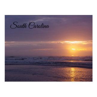 Cartão Postal Nascer do sol de South Carolina