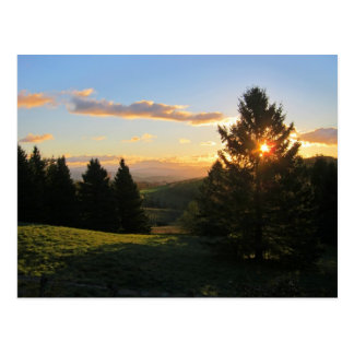 Cartão Postal Nascer do sol de Vermont