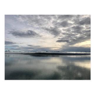 Cartão Postal Nascer do sol do Alasca