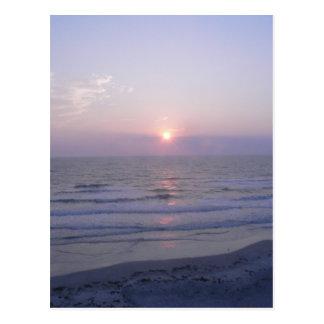 Cartão Postal nascer do sol em Daytona Beach