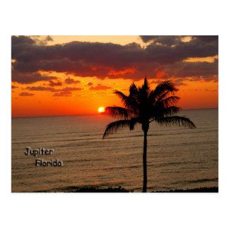 Cartão Postal Nascer do sol em Jupiter