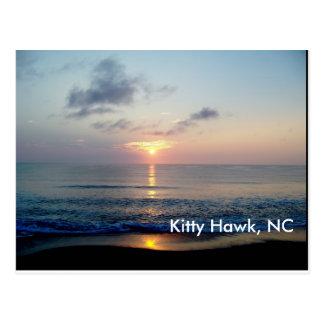 Cartão Postal Nascer do sol em Kitty Hawk