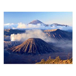 Cartão Postal Nascer do sol na montagem Bromo, Java, Indonésia