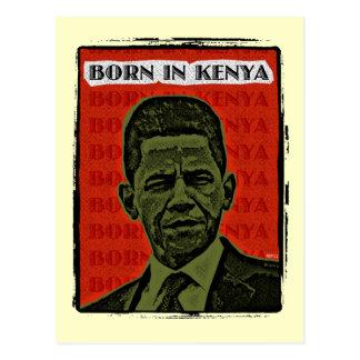 Cartão Postal Nascer em Kenya
