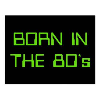 Cartão Postal Nascer no anos 80