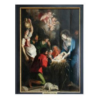 Cartão Postal Nascimento de Cornelis de Vos- de Jesus