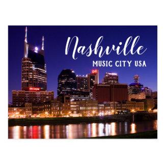 Cartão Postal Nashville --- Cidade EUA da música