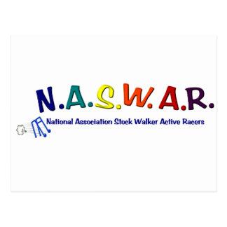 Cartão Postal NASWAR - Competência superior do caminhante