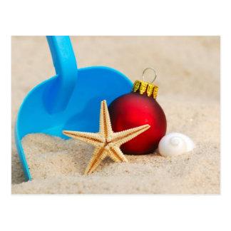 Cartão Postal Natal Beachy