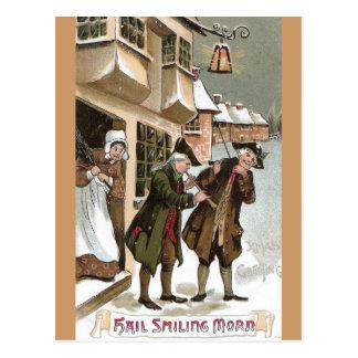 Cartão Postal Natal colonial em Olde Towne