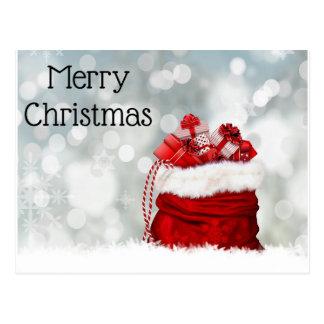 Cartão Postal Natal da Cartão-feliz