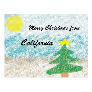 Cartão Postal Natal de Califórnia