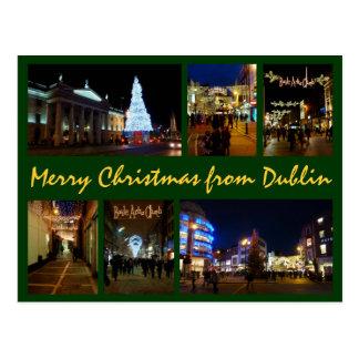 Cartão Postal Natal de Dublin
