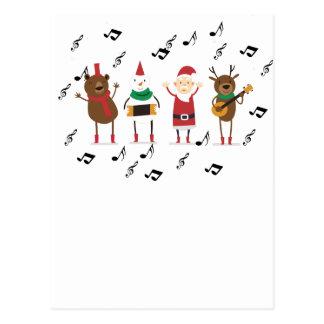 Cartão Postal Natal de Papai Noel