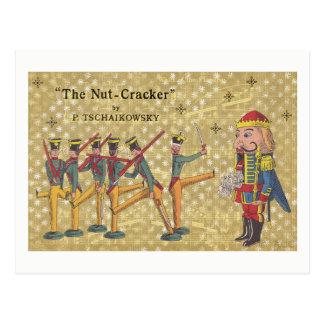 Cartão Postal Natal dos soldados do Nutcracker de Tchaikovsky