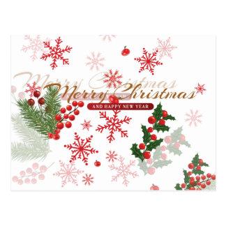 Cartão Postal Natal elegante