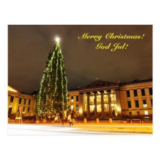 Cartão Postal Natal em Oslo, Noruega