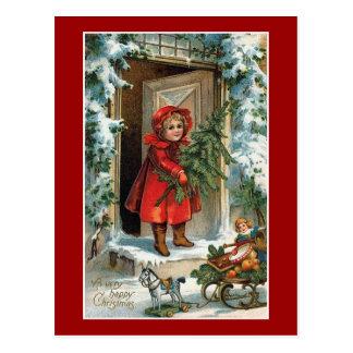 Cartão Postal Natal feliz