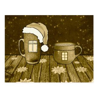 Cartão Postal Natal morno