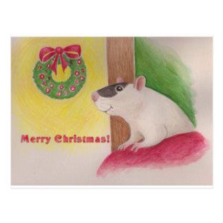 Cartão Postal Natal Ratty