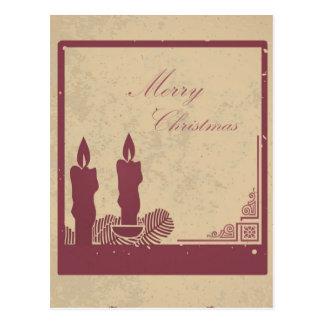 Cartão Postal Natal retro card5