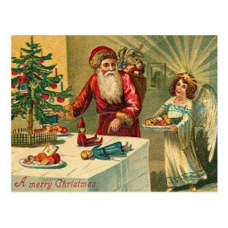 Cartão Postal Natal vintage